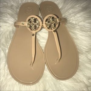 Like New Tory burch miller sandals Size 10M